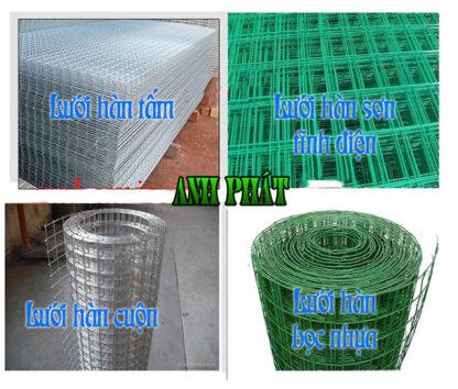 các loại lưới thép hàn