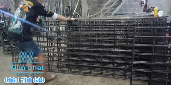 lưới hàn tấm thép đen