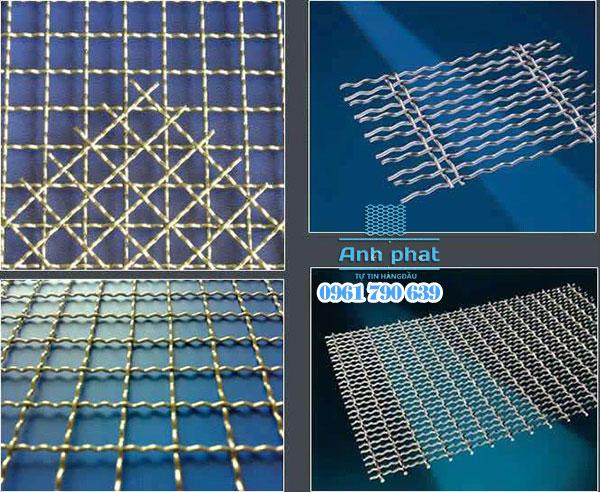 lưới inox đan 304
