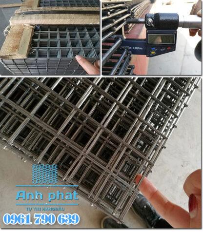 quy cách lưới thép hàn tấm