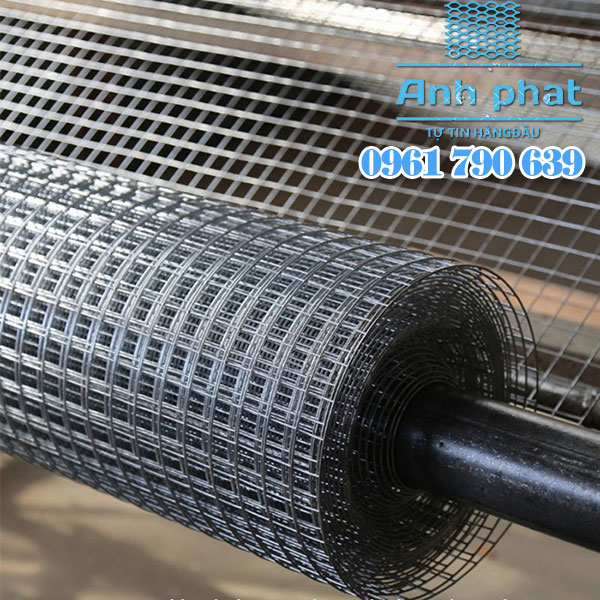 quy trình sản xuất lưới thép hàn mạ kẽm