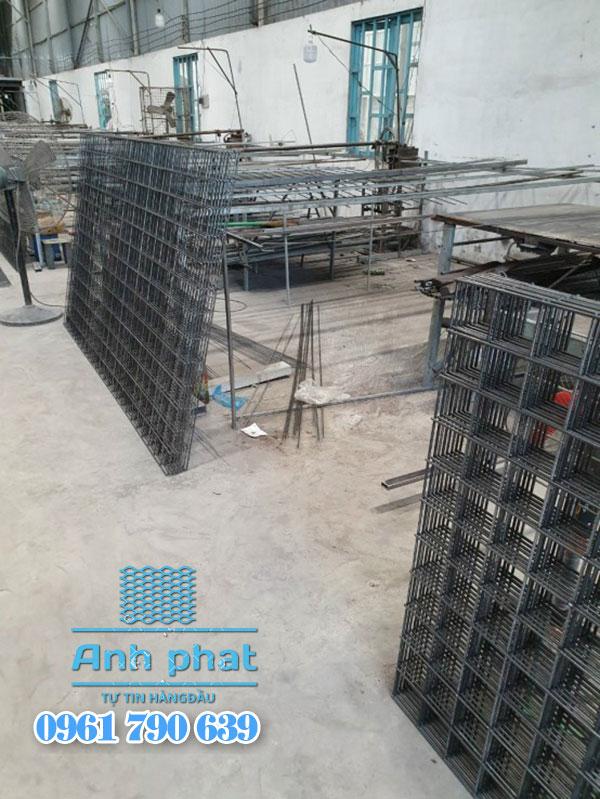 sản xuất lưới thép tấm