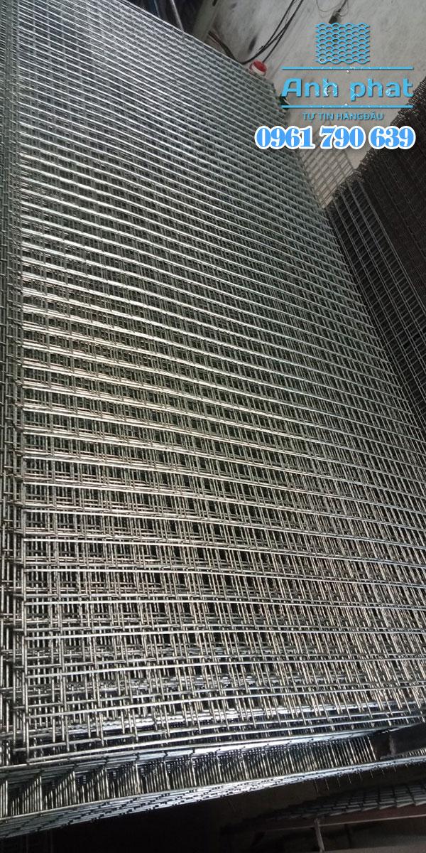 tấm lưới kẽm ô vuông
