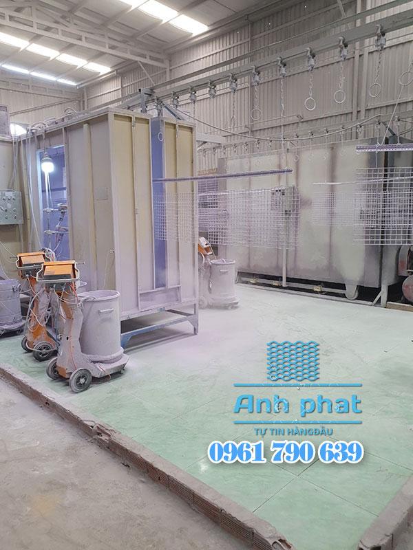 sản xuất lưới thép sơn tĩnh điện