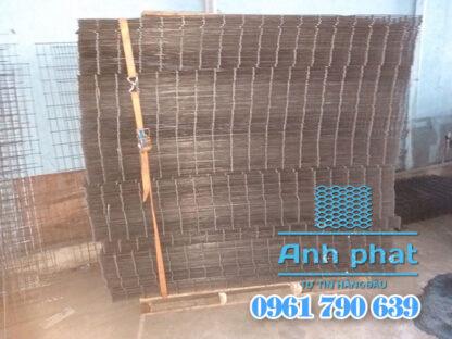 lưới hàn sắt đen dạng tấm