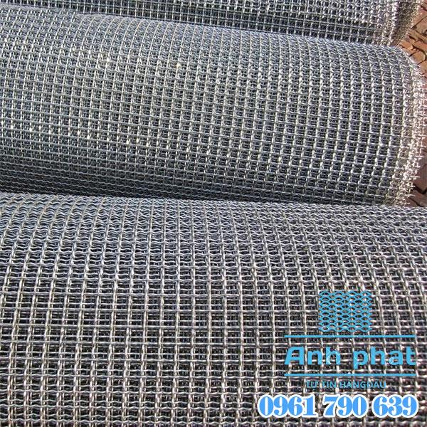 lưới inox đan sàng nông sản